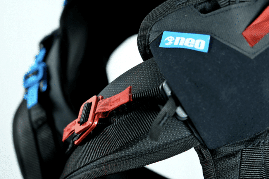 Leg strap - The Body 2.0 by Neo Speed Ride Speed Riding Speedriding harness 7