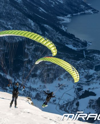 Mirage RS Plus Swing Paragliders Swing Speed Riding Speed Flying Team 4